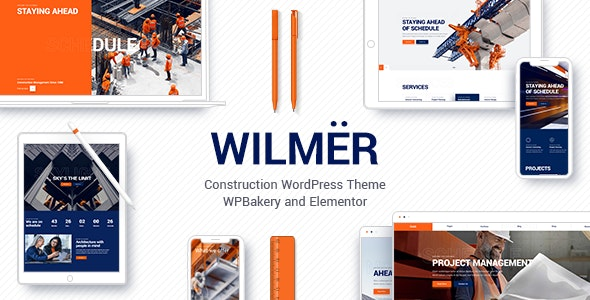 Wilmër 2.3 Nulled - Construction Theme