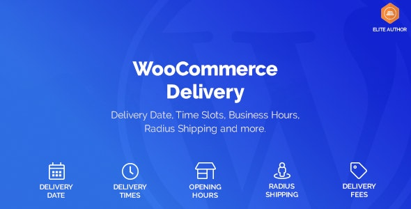 WooCommerce Delivery 1.1.15 - Delivery Date & Time Slots