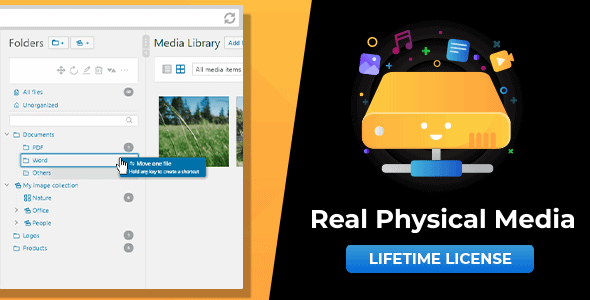 WordPress Real Physical Media 1.3.26 Nulled