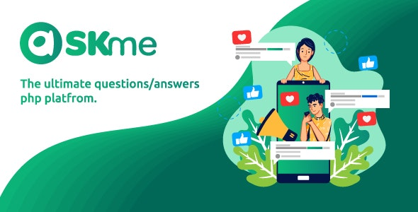 AskMe 1.1 Nulled - PHP Questions & Answers Social Network Platform