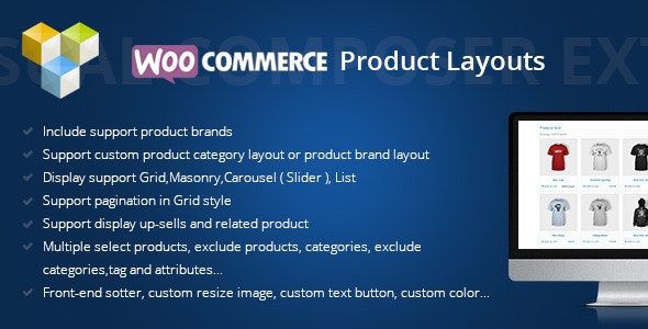 DHWCLayout 3.1.6 - Woocommerce Products Layouts