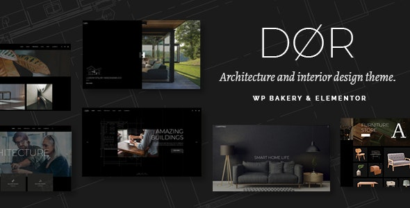 Dør 2.1 Nulled - Modern Architecture and Interior Design Theme