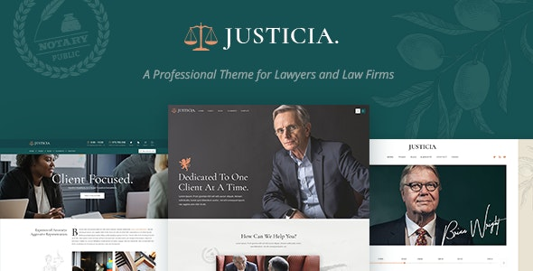 Justicia 1.4.0 - Lawyer and Law Firm Theme