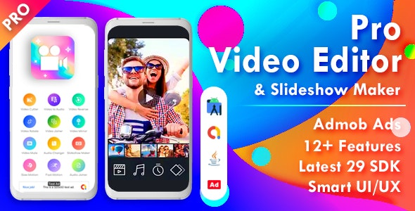 Pro Video Editor & Photo Video Maker for Android 2.0