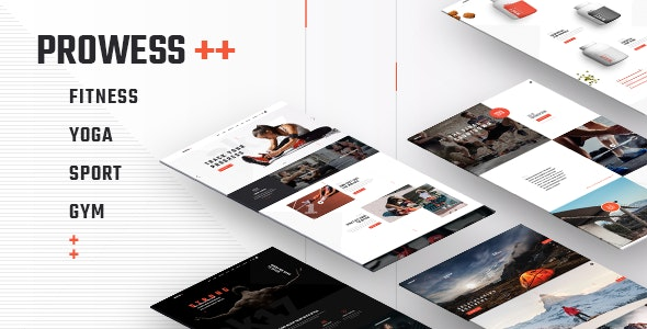 Prowess 1.8.1 Nulled - Fitness and Gym Theme