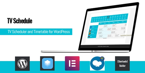 TV Schedule and Timetable for WordPress 1.1.2