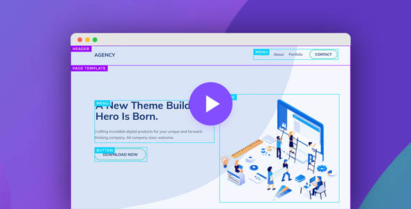 Themify Builder Pro 4.7.4 - Drag & Drop Page Builder For WordPress