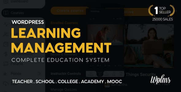 WPLMS 4.098 Nulled - Learning Management System for WordPress, Education Theme