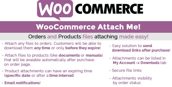 WooCommerce Attach Me 20.1
