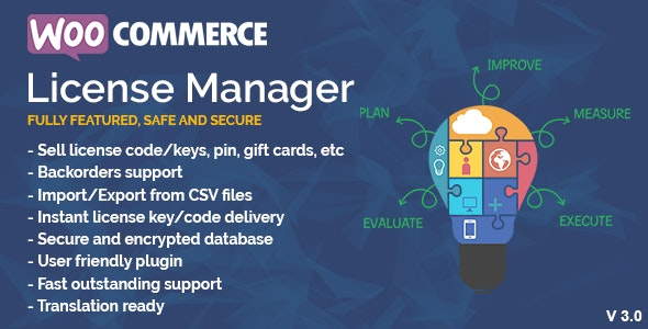 WooCommerce License Manager 4.4.1 Nulled