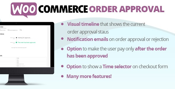WooCommerce Order Approval 5.3