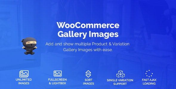 WooCommerce Product & Variation Gallery Images 1.0.6