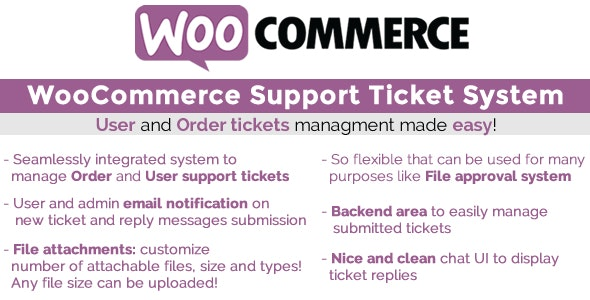 WooCommerce Support Ticket System 13.1