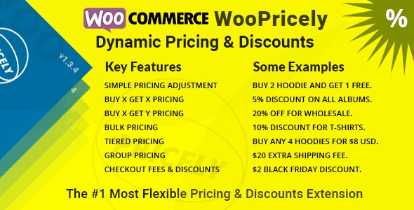 WooPricely 1.3.5 - Dynamic Pricing & Discounts