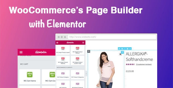 DHWC Elementor 1.2.5 - WooCommerce Page Builder with Elementor