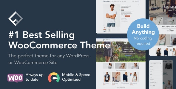 Flatsome 3.13.2 Nulled - Multi-Purpose Responsive WooCommerce Theme