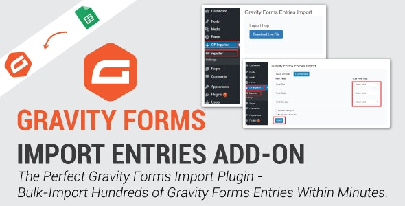 Gravity Forms Import Entries 1.3.1