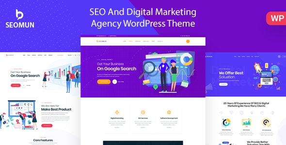 Seomun 1.0.6 - Digital Agency & Marketing WordPress