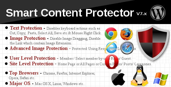 Smart Content Protector 9.9 - Pro WP Copy Protection