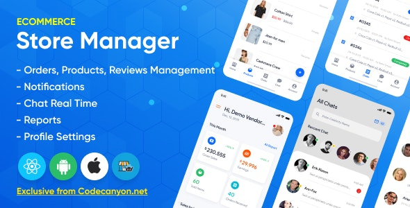 Store Manager 1.2.0 - React Native Application for WordPress Woocomerce