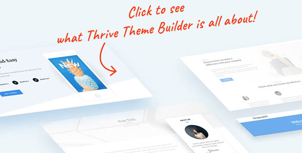 Thrive Theme Builder 2.5.2 Nulled (+ Shapeshift Theme)