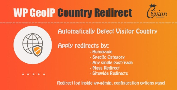 WP GeoIP Country Redirect 3.5 Nulled