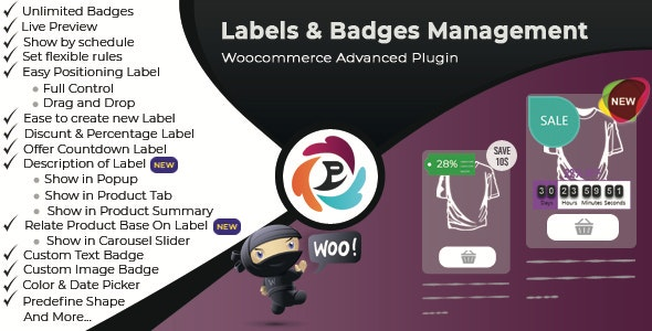 WooCommerce Advance Product Label and Badge Pro 1.8.6