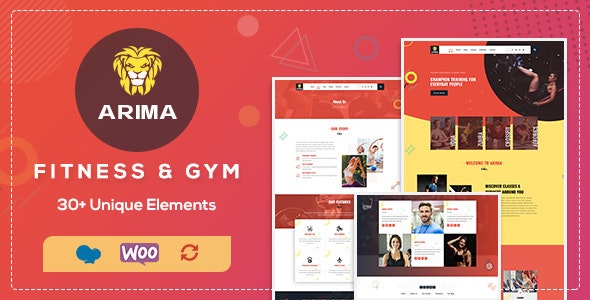 Arima 1.5 - Boxing, Fitness Club WordPress Theme