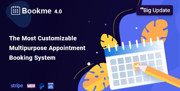 Bookme 4.2.1 - WordPress Appointment Booking Scheduling Plugin