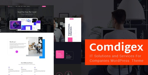 Comdigex 1.5 - IT Solutions and Services Company WP Theme