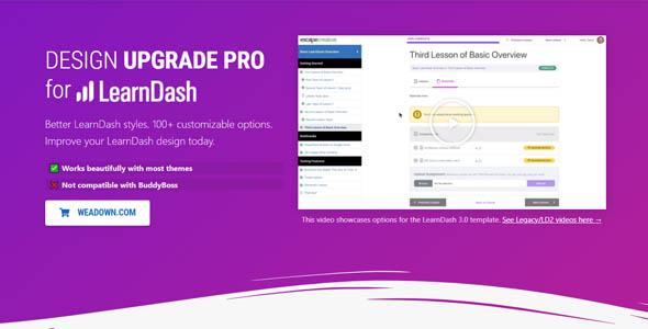 Design Upgrade Pro for LearnDash 2.13