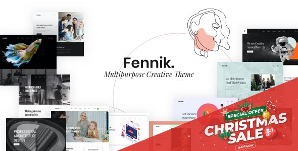 Fennik 1.0.1 - Multipurpose Creative WordPress Theme