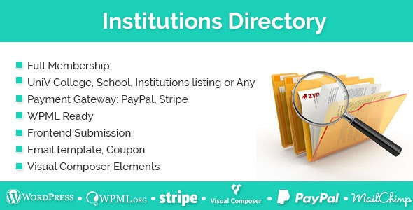 Institutions Directory 1.2.8
