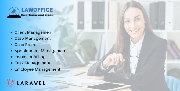 LawOffice 1.4 - Case Management System for Lawyer