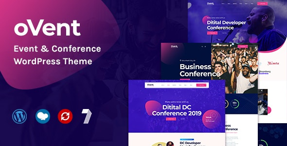 Ovent 1.0.3 - Event & Conference WordPress