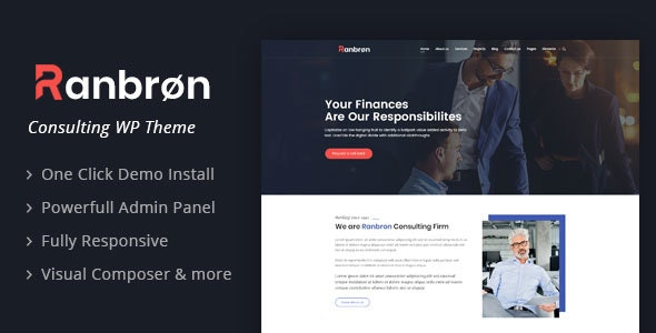 Ranbron 2.1 - Business and Consulting WordPress Theme