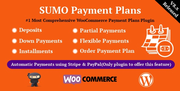 SUMO WooCommerce Payment Plans 8.2