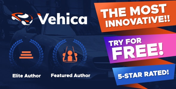 Vehica 1.0.34 - Car Dealer & Automotive Directory