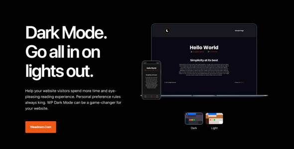 WP Dark Mode Ultimate 1.1.2 Nulled