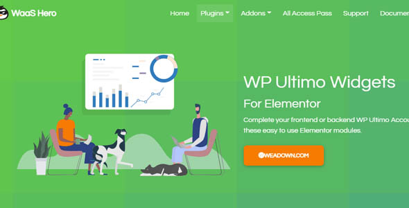 WP Ultimo Widgets for Elementor 1.0.5 Nulled
