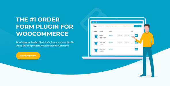 WooCommerce Product Table 2.8.7 – WeaDown