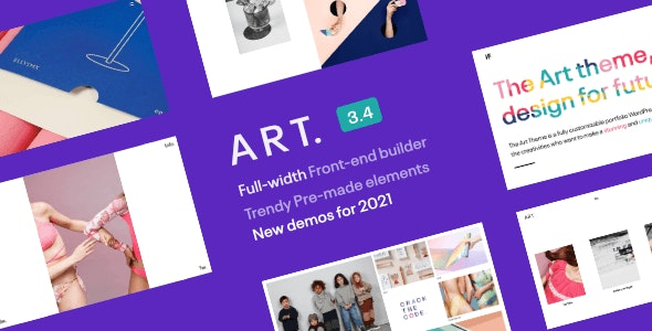 Portfolio ART 3.4.5 - WordPress Theme