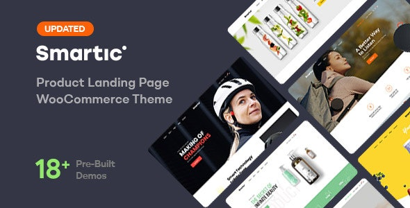 Smartic 1.8.3 - Product Landing Page WooCommerce Theme