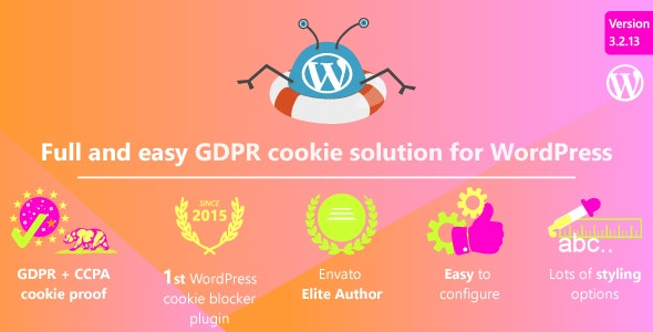 WeePie Cookie Allow 3.2.13 Nulled - GDPR / AVG / CCPA Cookie Compliance