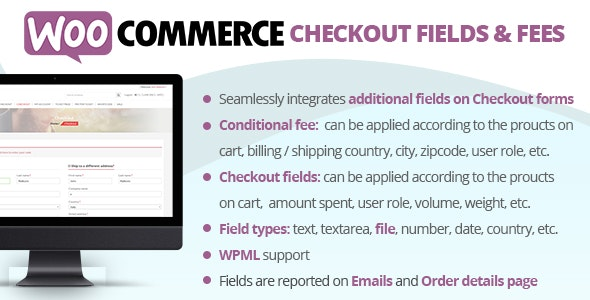 WooCommerce Checkout Fields & Fees 8.4