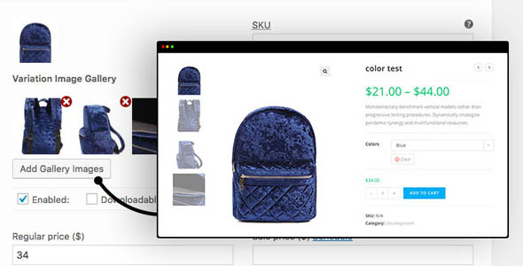 Additional Variation Images Gallery for WooCommerce - Pro 1.2.1