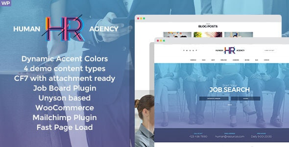 HR Human Consult 1.3.0 - Searching & Recruiting WordPress Theme