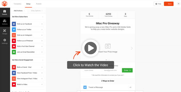 RafflePress Pro 1.7.2 Nulled – The Best WordPress Giveaway and Contest Plugin