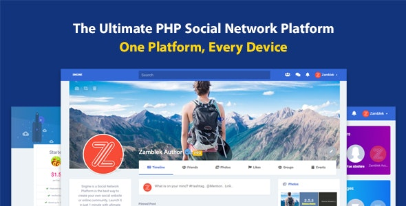 Sngine 3.1 Nulled - The Ultimate PHP Social Network Platform