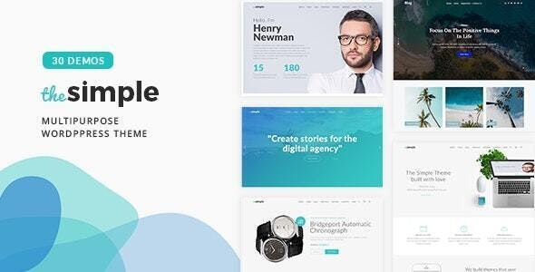 The Simple 2.5.9 - Business WordPress Theme